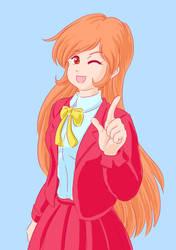Generic anime girl again by funkyninjamagic