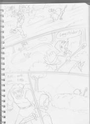 Adventures of Skree the Kenku Mage 1 page 4 by funkyninjamagic