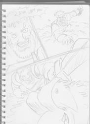 Adventures of Skree the Kenku Mage 1 page 5 by funkyninjamagic