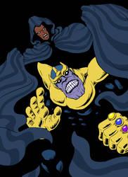 Cloak captures Thanos by funkyninjamagic