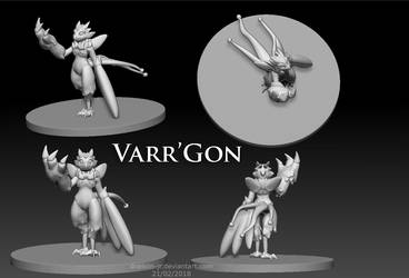 Vaar'Gon Sculpting by Draikon-Jr