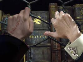 Harry Draco In the Library by XxMinishaxX