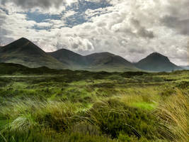 The Cuillin by EyeOfTheKat