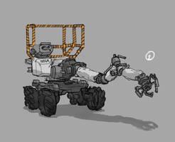 Traveler of Planets prop designs by Stealthtiger