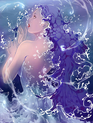 Water elemental by Daisy-Flauriossa