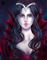 Queen of Spades by Daisy-Flauriossa