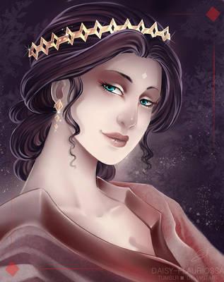 Queen of Diamonds by Daisy-Flauriossa