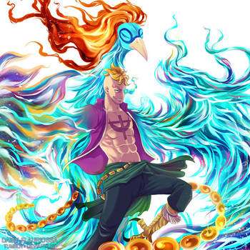 Marco the Phoenix - One Piece by Daisy-Flauriossa