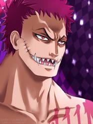 Katakuri - One Piece by Daisy-Flauriossa
