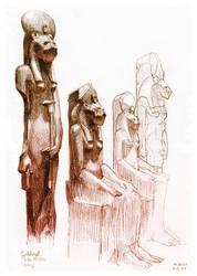 Sekhmet by Nicoll