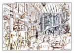Leadenhall Market by Nicoll