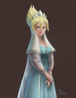Elsa old concept version by Nhaliz