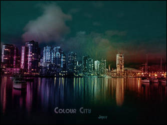 Rainbow city by javss