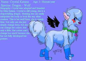 -:Crystal Wolf Ref :- by Rika-Katana