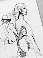 Lanvin FW in progress by katiebloo