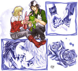Tiger and Bunny - A dream in pale lilac by Petey-Winter