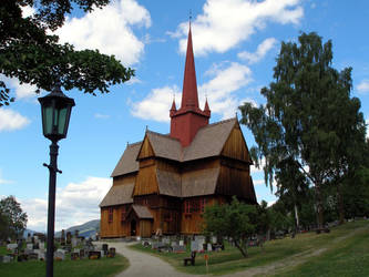 Stave Church by IchoTolot