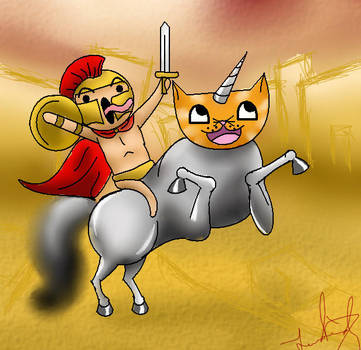 FOR SPARTA by CaramelChocolatez