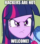 Twilight No Hackers by RailToonBronyFan3751