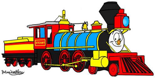Steamy (New Version) by RailToonBronyFan3751