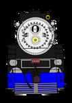 American-Freedom-Train-4449-Front by RailToonBronyFan3751