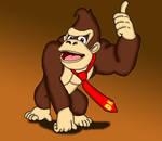 Donkey Kong by RailToonBronyFan3751