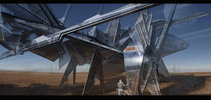 Desert structure by gunsbins