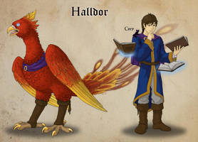 Halldor the Ambassador by LavinaArrow
