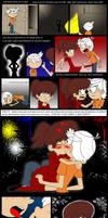 The Loud House Cueva del caos -Comic pag 14 by Ferozyraptor
