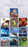 My Top 10 Favorite Pixar Movies by Toongirl18