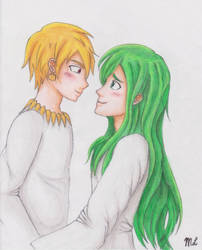 I have had only one partner, Enkidu. by twiggirl21