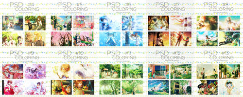 [Share] Pack 10 PSDs Coloring by Kitori-Nihami