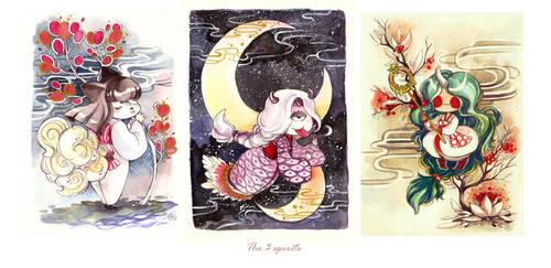 3 spirits by sanoe