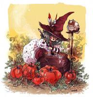 Happy Halloween by sanoe