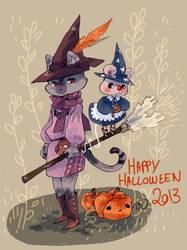 Halloween 2013 by sanoe
