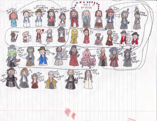 A Cast of Characters by HeartofPoetry
