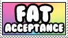 Fat Acceptance by ElStamporoonios