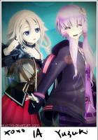 Request 03 | Ia and Yuzuki Yukari by ElyStrife