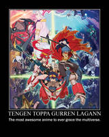 Tengen Toppa Gurren Lagann by NewMystery356