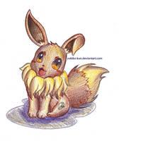 - Pokemon: Eevee - by Yukiko-Kun