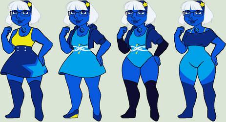 Blue Diamond by aerieyena