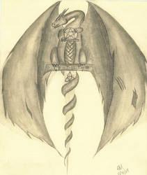 My tattoo stage four by Keralza