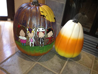 The GR8 MCR Pumpkin by rayraylovesmikeyway