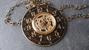 Golden Touch Steampunk Necklace by PunkTrunk