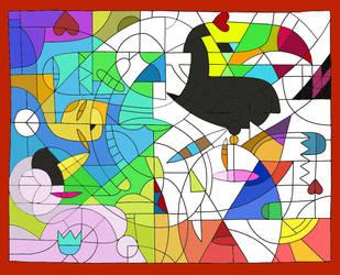 Love Triangle by SergeantFruitfly