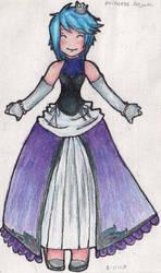 Aqua: princess form by SergeantFruitfly