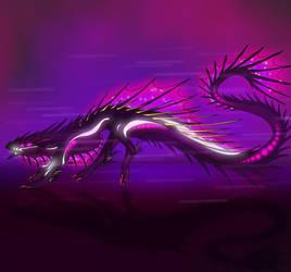 Galactic Dragon Design by ShadowRaptor498