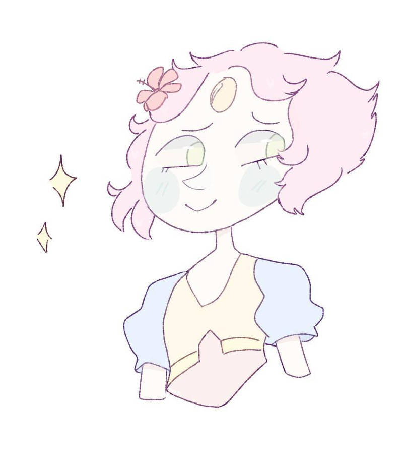 Pearl and Pink diamond were so pretty in the new episode!!