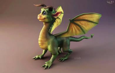 Li'l Dragon by silvanuszed