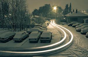 Snow Path by daysleeper555